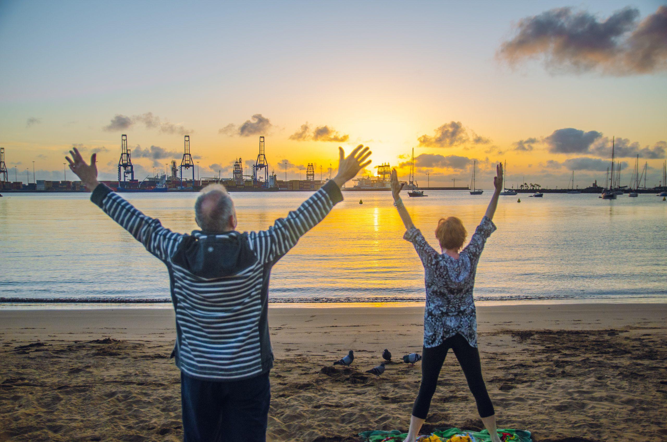 sunrise yoga & meditation classes in Las Palmas